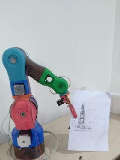 Humanoid Robotic arm